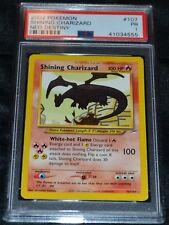 Holo Foil Shining Charizard # 107/105 Neo Destiny Set Pokemon Cards PSA 1 PR