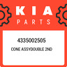 4335002505 Kia Cone assydouble 2nd 4335002505, New Genuine OEM Part