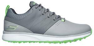 Skechers Go Golf Mojo Punch Shot Golf Shoes 54538GYLM Gray/Lime Men's Wides New