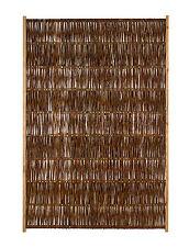 Weidenzaun 120 x 180 cm Feliwa Optimo Naturzaun Flechtzaun