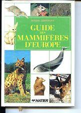 GUIDE DES MAMMIFERES D'EUROPE - Berger Dobroruka - 1987 - ZOOLOGIE b