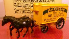 HORSE-DRAWN DELIVERY VAN: MacCOSHAM LLEDO MODEL: 1983: MINT