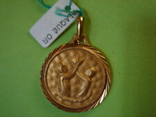 MEDAILLE DU ZODIAQUE GEMAUX VINTAGE 70 PLAQUE OR NEUF/NEW GOLD PLATED ZODIAC