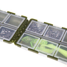 8 Compartments Storage Case for Fishing Lure Spoon Hooks Baits Tackle Box Case
