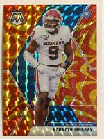 🔥 2020 PANINI MOSAIC KENNETH MURRAY ORANGE REACTIVE PRIZM REFRACTOR RC #250🔥