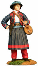 BRITAINS 31109 Union Infantry 114th Pennsylvania Zouaves - Vivandiere Mary Tebe