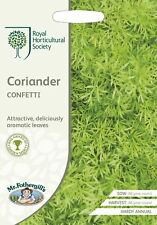Mr Fothergills -  Vegetable - RHS Coriander Confetti - 150 Seeds