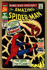 The Amazing Spiderman  #36 - King-Size Special 1967 (Grade 5.5) WH