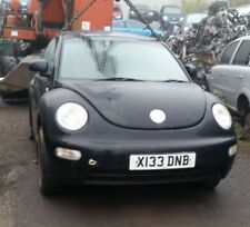 VW BEETLE BLACK  FRONT BUMPER AND LOWER GRILL (FULL CAR BREAKING)