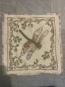 Pottery Barn Dragonfly Pillow Cover  20x20