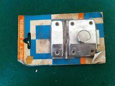 1 targette acier chromée  6.5 x 4.5 complète NEUVE