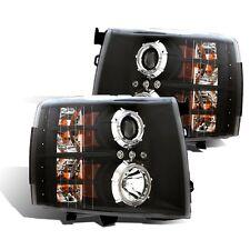CG Chevy Silverado 07-13 Projector Headlight Black Clear