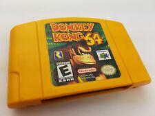 Donkey Kong 64 (Nintendo 64) N64 Cleaned & Working -  FREE SHIPPING!
