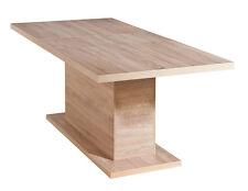 Table de salle à manger cuisine salon décor Sonoma chêne