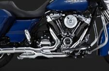 VANCE & HINES HARLEY TOURING POWER DUALS CHROME HEAD PIPES 2017 TOURING 16871
