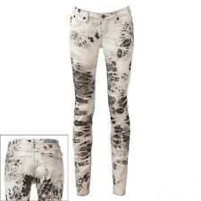 ROCK AND REPUBLIC BERLIN FEATHER SKINNY JEANS NEW NWT 0 M R010161 TIE DYE