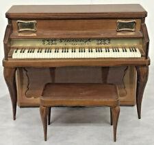 Vintage Steinweigh Piano Transistor Radio w/ original Bench Perfect condition !