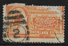 US Scott #E3, Single 1893 Special Delivery 10c Fine Used