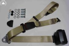 Cinturón de seguridad estática Frontal Para MG MGA Hardtop Coupe 1957-1962 Beige