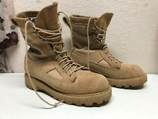 Bates US Army Combat Boots Desert Tan Temperate Weather Military Leather 4.5 XW