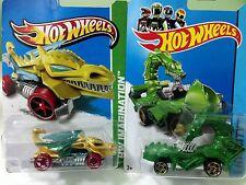 Hot Wheels Dragon Blaster and Rodzilla...New