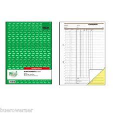 Sigel Formularbuch Sd056 Kassenbuch/edv