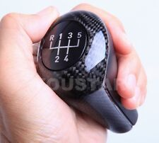 UK STOCK 3D GENUINE CARBON 5 Speed Performance Manual Shift Gear Knob for BMW