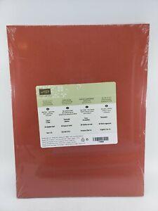 CAJUN CRAZE Cardstock 8.5 X 11 Stampin Up #119684 NEW