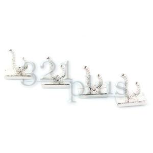 4 Stk Haken Puppenstuben 1:12 Wand Dekor Miniatur Kleiderhaken Puppenhaus Metall