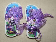 Sandales chaussures d'été violet pour bébé fille taille 15 6-9 mois - neuf