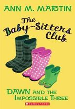 Dawn And The Impossible Three (The Babysitters Club)-ExLibrary