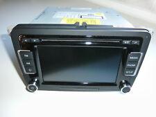 "VW RCD 510 SD-Karte/6-Fach CD/MP3-Player Autoradio Bosch 5K0 035 190 B   ""Top"""