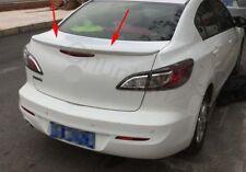 Factory Style Spoiler Wing ABS for 2010-2013 MAZDA 3 Sedan Spoiler B