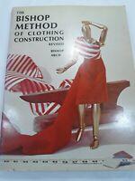 Vintage 1966 The Bishop Method of Clothing Construction Revised Paperback Book