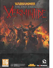 Warhammer The End Of Times Vermintide PC Brand New Factory Sealed