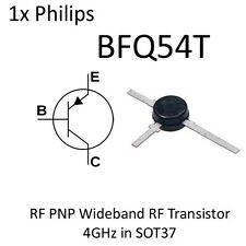 BFQ54T PNP Wideband RF Transistor 4GHz SOT37 BFQ54