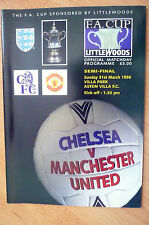 1996 FA Cup Semi Final- CHELSEA v MANCHESTER UNITED, 31st March