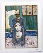 Billy Childish - Man   RARE SIGNED NUMBERED LIMITED EDITION ART PRINT 3/31