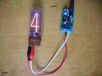 power supply for nixie tube (clock) in14 in16 in18 in12 nixie hv (GREEN PCB)