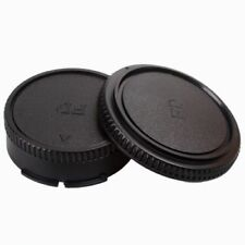 Plastic Body Front & Rear Lens Caps Cover For Canon FD camera Accessories