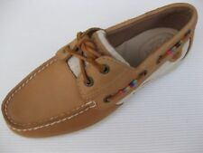 Sperry Topsider Womens Shoes NEW $90 Koifish 2 Eye Tan Leather Multi Wrap 9.5 M