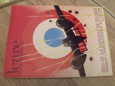 µµ ICARE REVUE aviation Française n°87 1939-40 Bataille de France Vol XII 54e Es