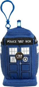 DOCTOR WHO TARDIS Mini Clip-On Talking Plush with authentic sound effect dr NEW