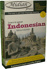 Learn Indonesian language kit 2 books 3cds flashcards bahasa Indo +46 mp3 on CD
