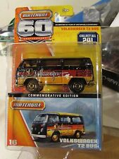 Matchbox Volkswagen T2 Bus Commemorative Edition 60 Anniversary