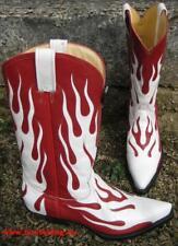 Rancho Boots Cowboystiefel Westernstiefel neu Leder Handmade!!!  Gr.43