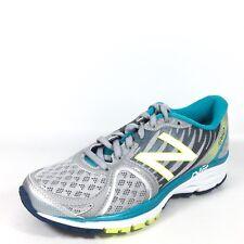 New Balance W1260SB5 Womens Size 6 B Sliver/Blue Running Sneakers.