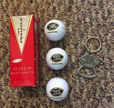 MIKES HARD LEMONADE PINNACLE 1  (3) GOLF BALLS  (3) LEMON & (1) KEY CHAIN