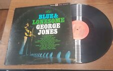 Blue And Lonesome George Jones Album Record