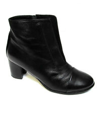 sz 38 / 7 TS TAKING SHAPE Dorotea Ankle Boots smooth black leather sexy NIB $180